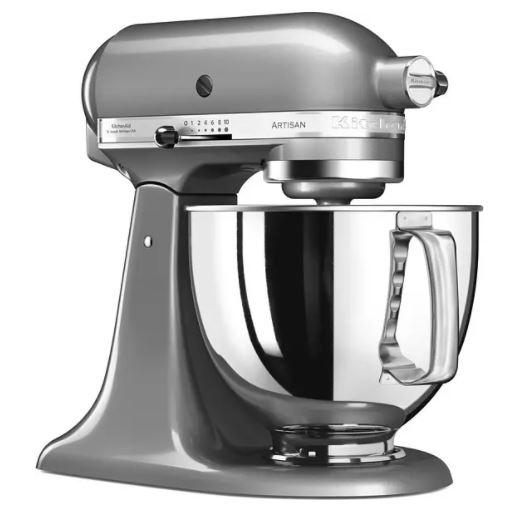 KITCHENAID 5KSM125EQG ARTISAN Küchenmaschine (4,8 Liter, 300 Watt) für nur 419€ inkl. Versand (statt 554€)