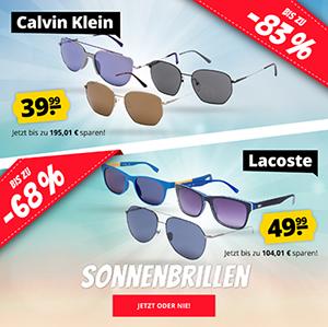 SportSpar: Verschiedene Lacoste & Calvin Klein Sonnenbrillen stark reduziert – ab nur 39,99€