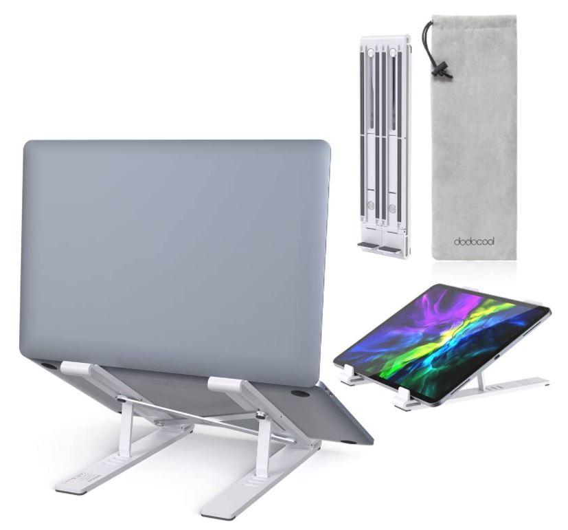 dodocool 4-stufiger höhenverstellbarer Laptop Ständer (bis 17.3″) für nur 10,39€