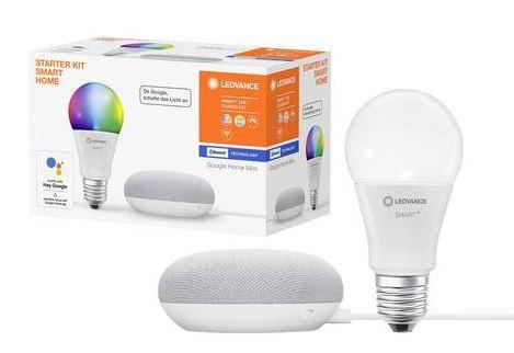 LEDVANCE Smart+ Starterkit Beleuchtung (E27, 10W) für nur 22€ inkl. Versand (statt 54€)
