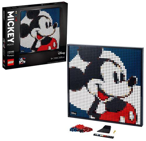 LEGO 31202 Art Disney's Mickey Mouse Set für nur 80€ (statt 91€)