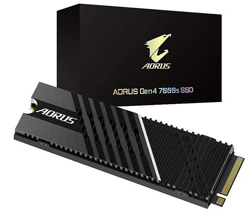 GIGABYTE AORUS 7000s PCIe 4.0 M.2 NVMe SSD – 1TB für nur 185,48€ inkl. Versand (statt 216€)