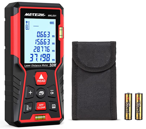Meterk Laser Entfernungsmesser 100m