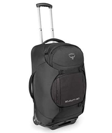 Osprey Sojourn 60 Reisetasche mit Rollen und Schulter- und Hüftgurten für nur 113,78€
