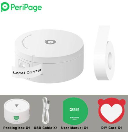 PeriPage L1 Mini Bluetooth Etikettendrucker für nur 20,68€ inkl. Versand aus DE-Lager