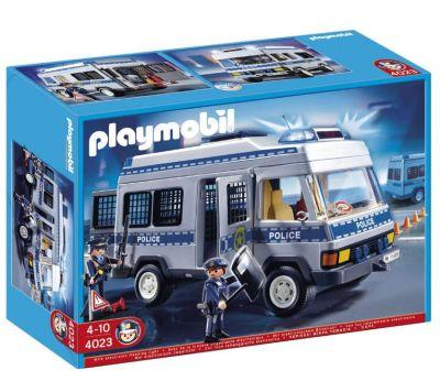 Playmobil Sammeldeal bei Galeria: Z. B. Playmobil City Action Polizei-Mannschaftswagen 4023 für nur 28,94€ inkl. Versand