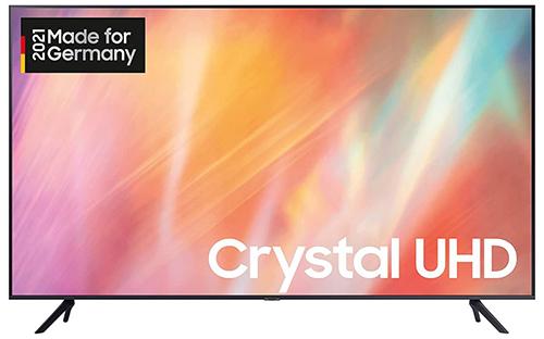 Samsung Crystal GU50AU7179UXZG (50 Zoll, UHD 4K, HDR, Q-Symphony) für nur 449€
