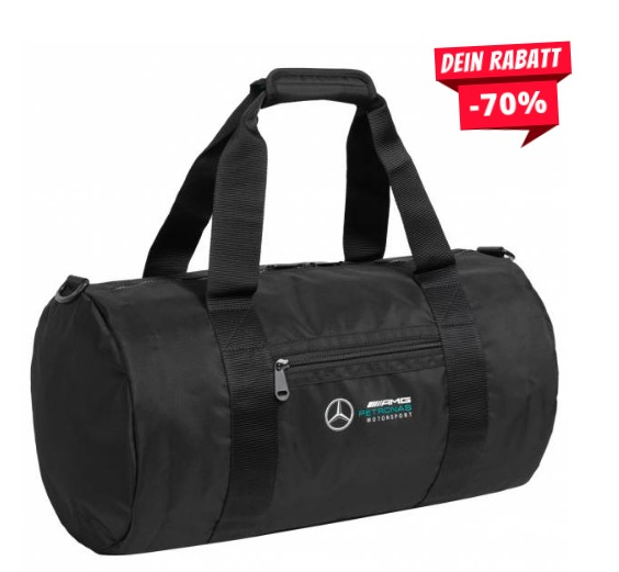 Mercedes AMG Petronas 50 x 28 x 28 Sporttasche für 26,17€