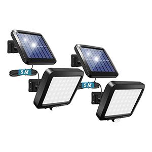 2x BENMA Solarlampen für Außen mit Bewegungsmelder für nur 19,79€