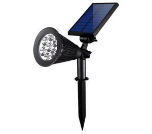Kstyhome Solar LED Garten Spot (IP65 Schutzklasse) für 14,39€