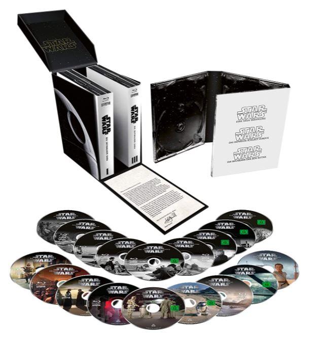 Star Wars 1 - 9 - Die Skywalker Saga Blu-ray