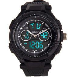 DIRAY Digital Armbanduhr mit Wecker für 6,49€