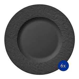 6er-Pack Villeroy & Boch Manufacture Rock Speiseteller für nur 69,99€ (statt 84€)