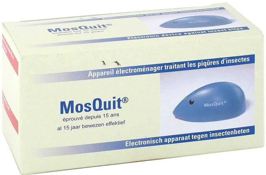 MosQuit Elektronischer Stichheiler gegen Juckreiz, Schwellungen, Brennen und Schmerzen bei Insektenstichen für nur 11,11€ inkl. Versand