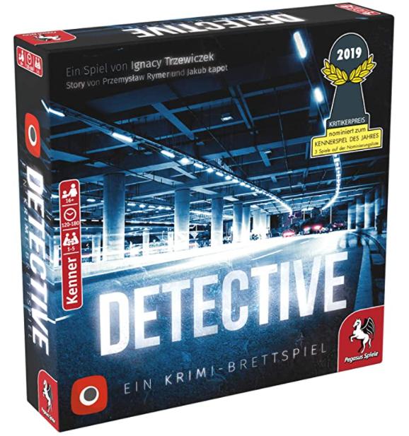 Pegasus Spiele 57505G – Detective (deutsche Ausgabe) für nur 23,49€