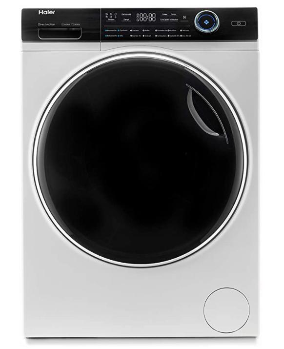 Haier HW80-B14979 I-PRO Serie 7 Waschmaschine mit 8 kg XL-Trommel, Direct Motion Motor, Vollwasserschutz und nur 54 cm Tiefe für nur 322,90€
