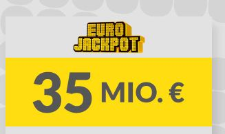 Heute 35 Mio. Jackpot: 2 Felder Eurojackpot für 1€ statt 4,60€ spielen (Lotto24 Neukunden)