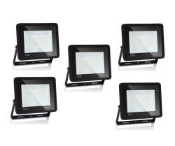 5er Pack Hengda 50W LED Strahler IP66 mit 4250 Lumen für 24,74€