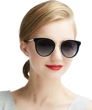 DADA-PRO Damen Sonnenbrille (polarisiert, UV400 Schutz) für 8,99€