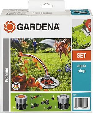 Gardena Start-Set für Garten-Pipeline: Witterungsbeständige Wassersteckdosen für 54,80€ (statt 77,04€)