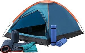 McKinley Kuppelzelt Festent Set (inkl. 2 Matten und 2 Schlafsäcke) für 50,99€ inkl. Versand (statt 63€)