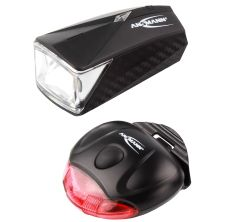 ANSMANN LED Fahrradlicht Set 1600-0105 für 7,99€ inkl. Prime-Versand