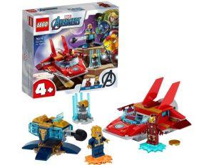 Lego Marvel Avengers Iron Man vs. Thanos mit Jet für nur 11,69€ inkl. Versand