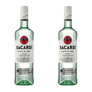 2L (2x 1L) Bacardi Carta Blanca 37,5% für nur 27,80€ (statt 36€)