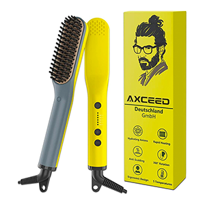 Axceed Elektrischer Haar-/Bartglätter für nur 9,99€ inkl. Prime-Versand