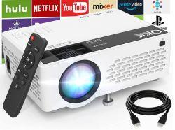 QKK V08 HD Beamer mit 1280x720 Pixel für 50,39€