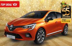 Testleasing für Gewerbekunden: Renault Clio 5 Business Edition SCe 65 auf 12 Monate nur 82,11€ mtl.