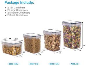 Aitsite Vorratsdosen-Set (8 Dosen) für nur 18,89€ inkl. Versand