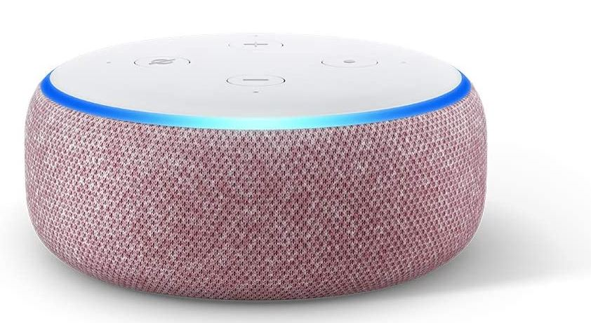 Echo Dot (3. Generation) - Lila