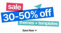 30 bis 50% Rabatt auf viele Themes und Plugins bei Themeforest – z.B. The7 WordPress Theme für 27$
