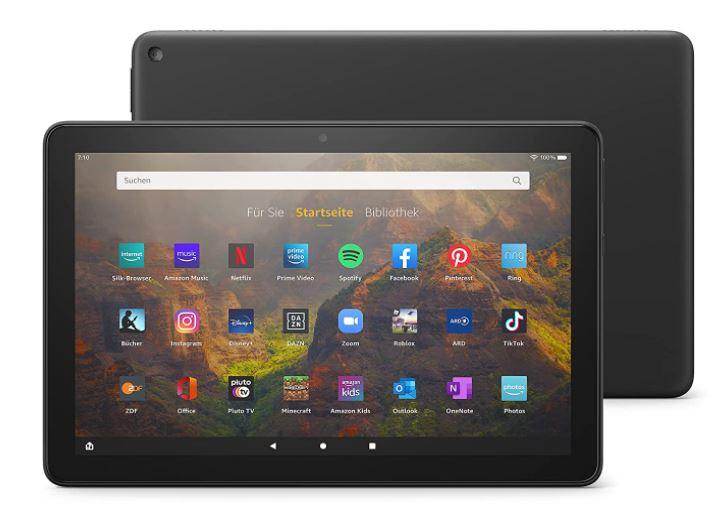 Fire HD 10 Tablet - Schwarz