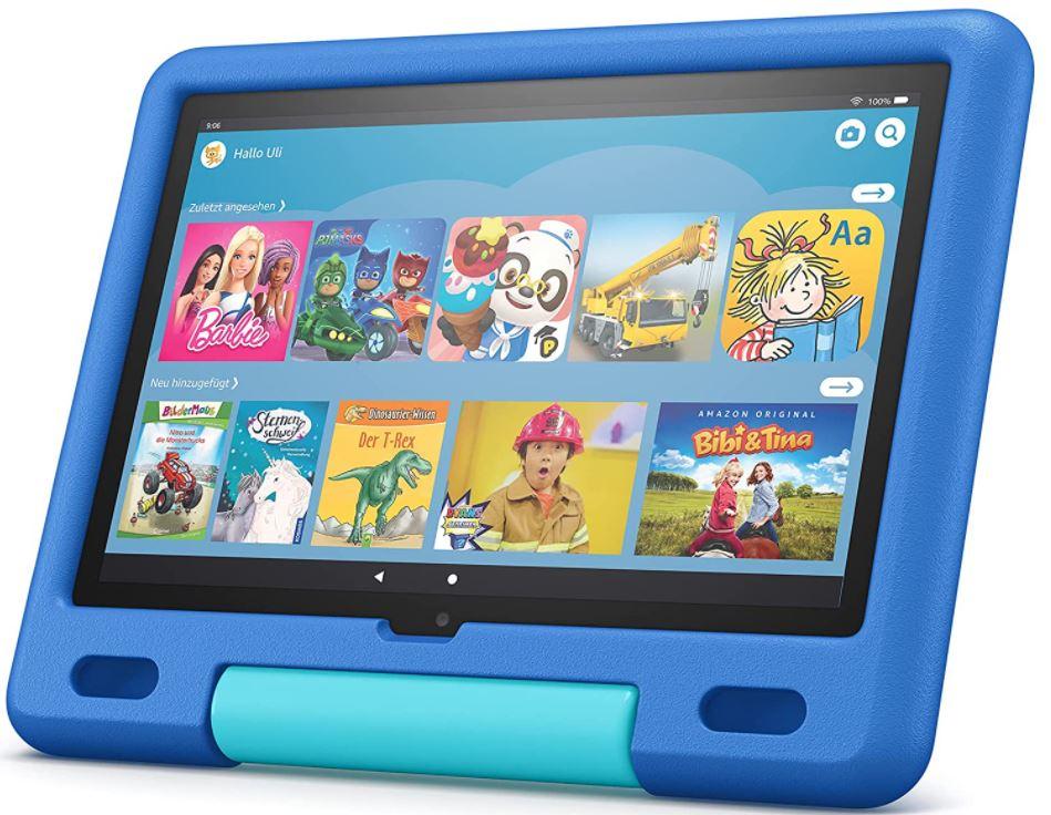 Fire HD 10 Kids-Tablet - Himmelblau