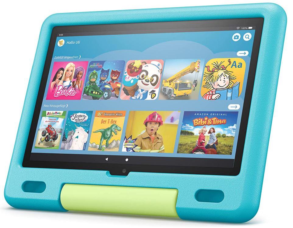 Fire HD 10 Kids-Tablet - Aquamarin