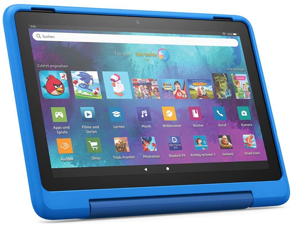 Fire HD 10 Kids Pro-Tablet - Himmelblau