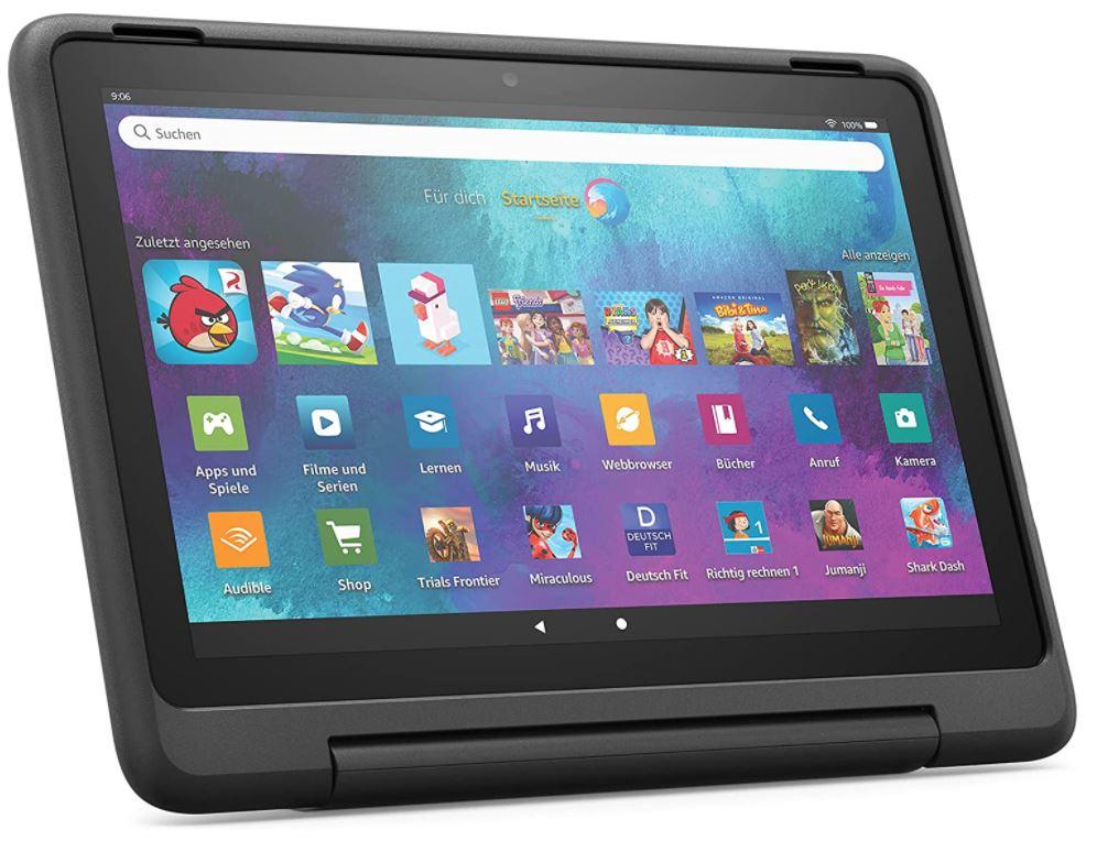 Fire HD 10 Kids Pro-Tablet - Schwarz