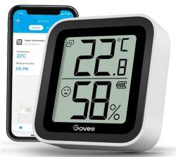 Govee H5102001DE Bluetooth Thermometer/Hygrometer mit 2,2″ Display für 9,59€