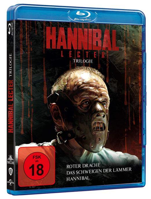 Hannibal Lecter Trilogie [Blu-ray] für nur 12,97€ (statt 24€)