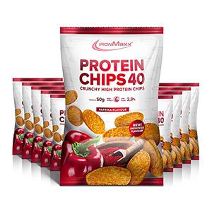 10x 50g IronMaxx Protein Chips für nur 12,49€ inkl. Prime-Versand (statt 20€)