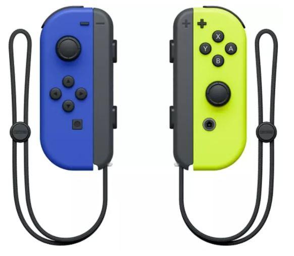 NINTENDO Switch Joy-Con 2er-Set Controller (Blau/Neon-Gelb) für nur 53,54€ (statt 63€)