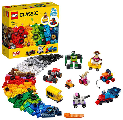 LEGO 11014 Classic Steinebox mit Rädern für nur 29,99€