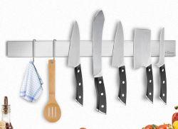 Dmore Küchen-Magnetleiste aus Edelstahl mit Haken für nur 8,94€
