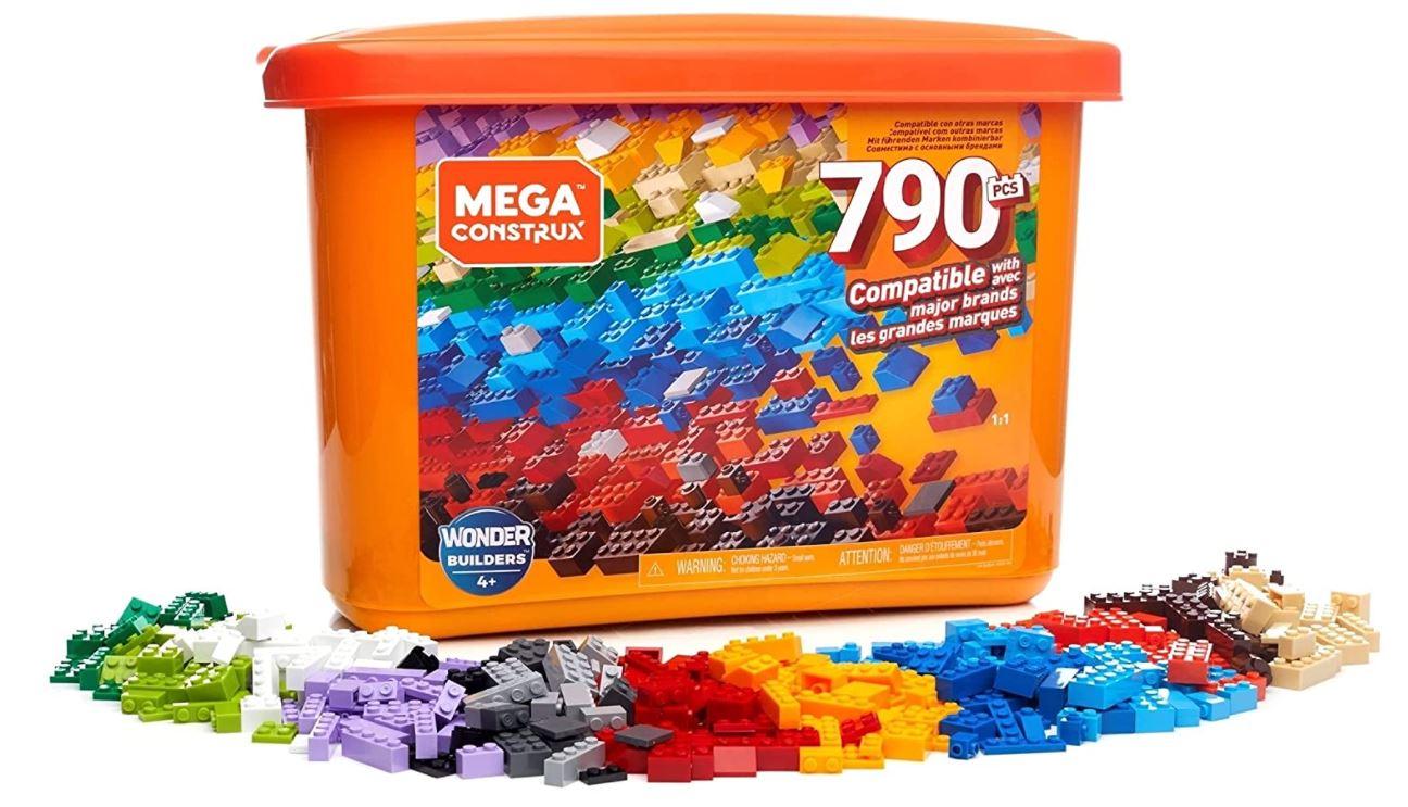 Mega Construx GJD24 Wonderbuilders Bausteinebox (790 Teilen) für nur 23,50€