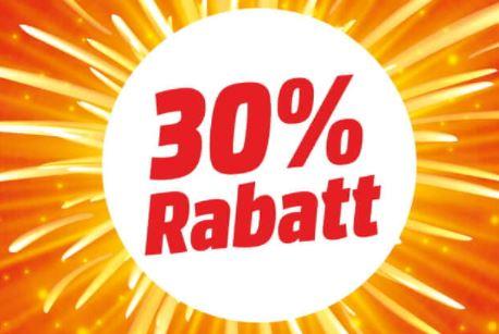 Bis zu 30% Rabatt auf verschiedene Kategorien in den MediaMarkt Wiedereröffnungsangeboten
