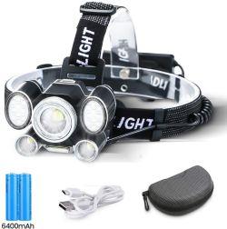OUTERDO 2055 Stirnlampe mit 2 Akkus für nur 14,69€ statt 20,99€