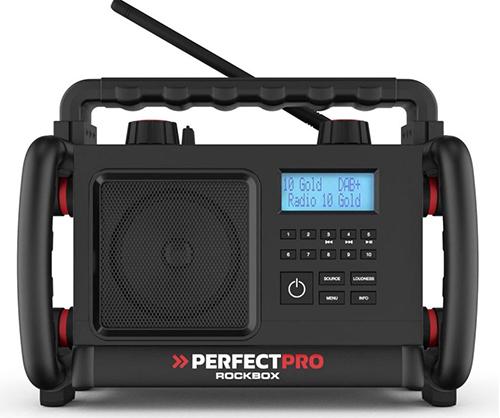 Perfectpro Rockbox Bluetooth Baustellenradio für nur 125,90€ inkl. Versand