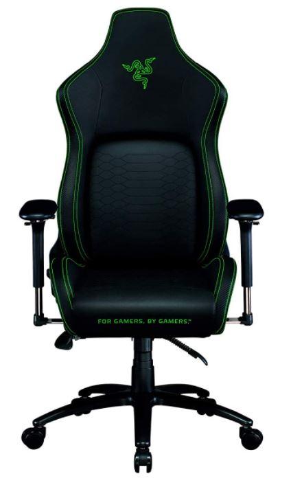 Razer Iskur - Premium Gaming-Stuhl mit integrierter Lendenwirbelstütze für 389,99€ (statt 501€)
